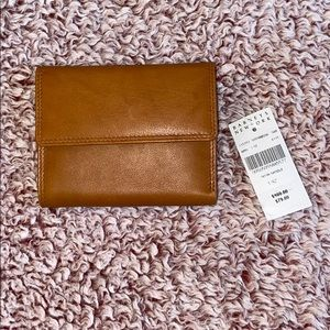 Barney's New York Tan Wallet